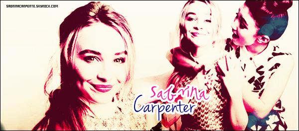 .   Bienvenue sur SabrinaCarpente, ta source d'actualité sur la sublime Sabrina Carpenter ! Suis toute l'actualité de la jeune star, à travers divers médias tel que candids, envents, shoots,...   .