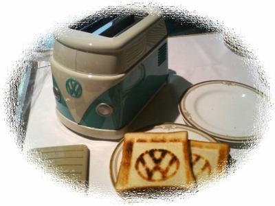 grille pain vw mon amour pour les coccinelles. Black Bedroom Furniture Sets. Home Design Ideas