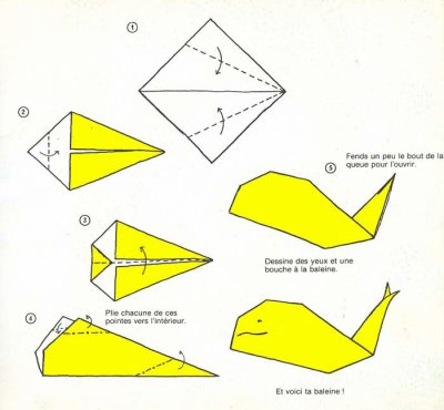 Activit s origami facile blog de ma nounou77 - Video d origami facile ...