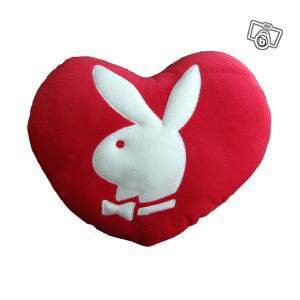 Coussin Coeur Play Boy