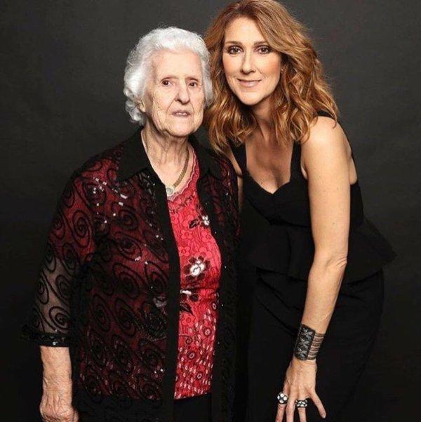 C�line et maman Dion <3