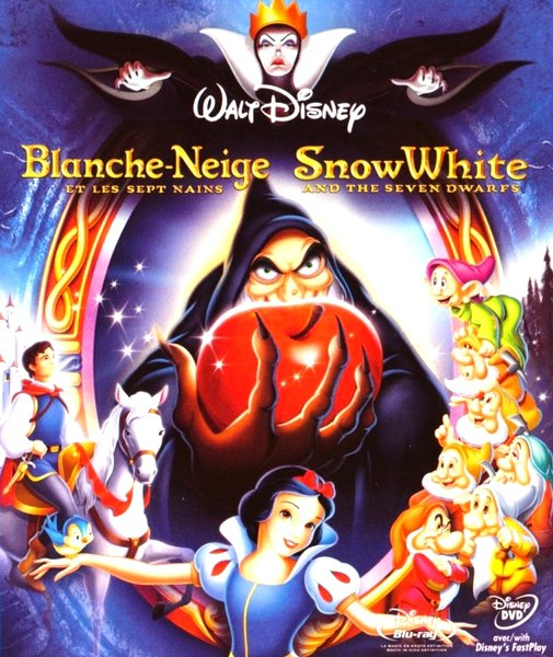 Les personnages de Blanche-Neige et les Sept Nains