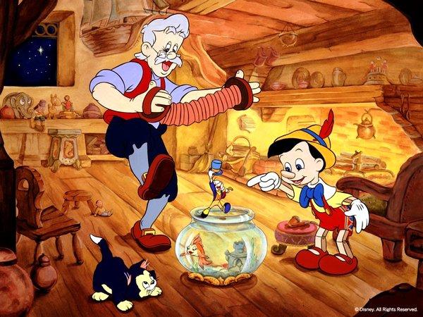 Les chansons de Pinocchio