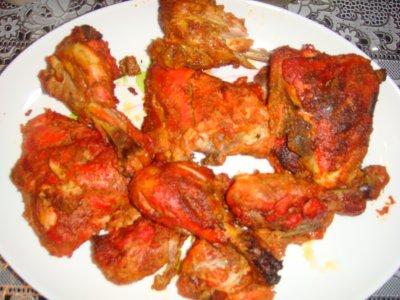 poulet tandoori recette pakistanaise. Black Bedroom Furniture Sets. Home Design Ideas