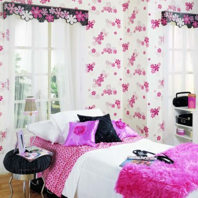 belle chambre pour fille x dec0r reve x. Black Bedroom Furniture Sets. Home Design Ideas