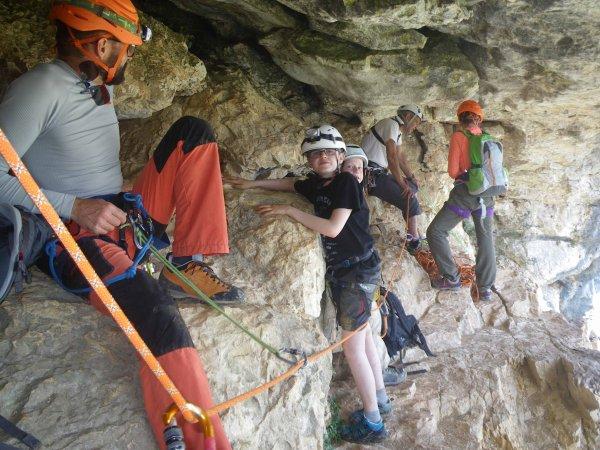 5 juin. Sortie familles à la grotte des Champignons