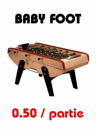 Nouveau BABY FOOT