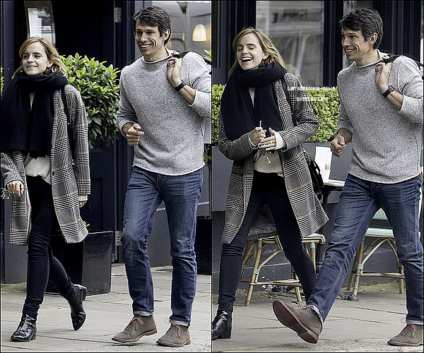 . 03 juin : Emma a �t� aper�ue seule � Londres, en ville, alors qu'elle retournait � sa voiture ! C'est un top ! J'aime beaucoup sa tenue, �a fait du bien de la voir se balader dans sa ville !  .