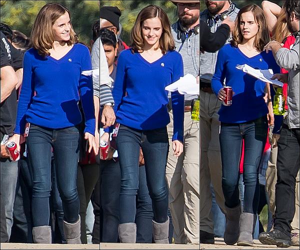 . 06/01 : Emma vue sur le tournage de The Circle ! En effet, elle a dû tourner à nouveau des scènes ! Elle a aussi dû re-filmer une scène avec Tom Hanks ! J'aime la voir sur des tournages, j'espère qu'on aura des annonces de films bientôt !  .