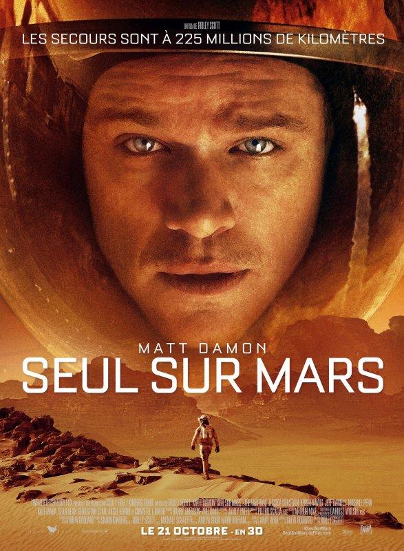 SEUL SUR MARS (THE MARTIAN)