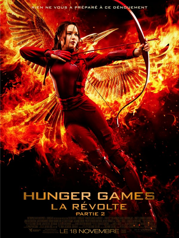 HUNGER GAMES : LA R�VOLTE partie 2 (THE HUNGER GAMES: MOCKING JAY PART 2)