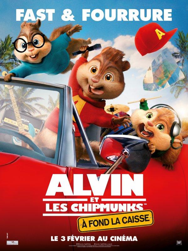 ALVIN ET LES CHIPMUNKS :  � FOND LA CAISSE (ALVIN AND THE CHIPMUNKS: THE ROAD CHIP)