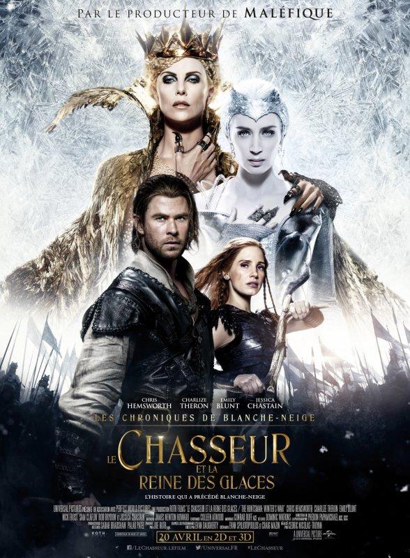 LE CHASSEUR  ET LA REINE DES GLACES (THE HUNTSMAN: WINTER'S WAR)