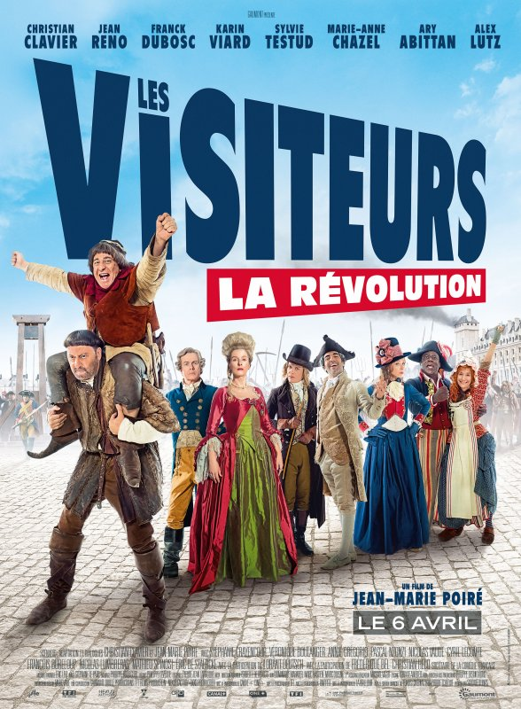 LES VISITEURS : LA R�VOLUTION