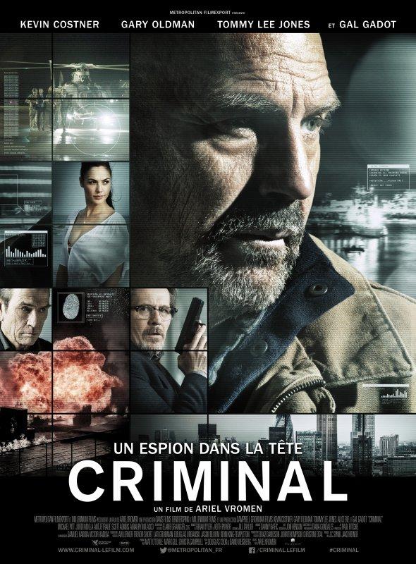 CRIMINAL : UN ESPION DANS LA TÊTE (CRIMINAL)
