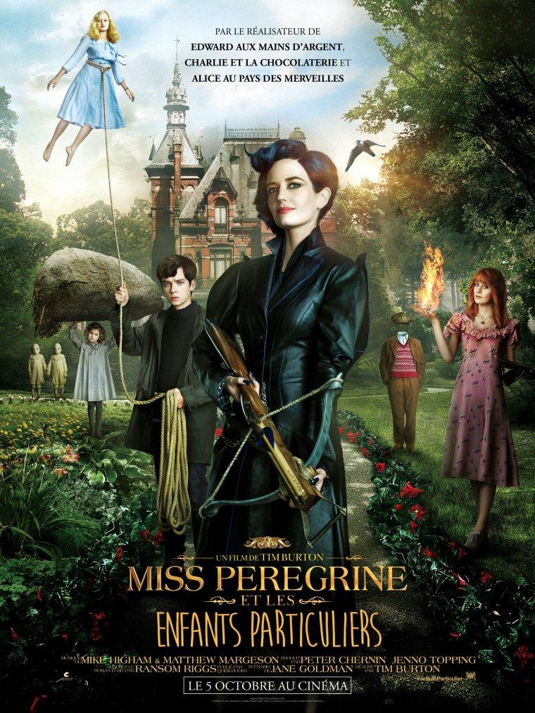 MISS PEREGRINE  ET LES ENFANTS PARTICULIERS (MISS PEREGRINE'S HOME FOR PECULIAR CHILDREN)