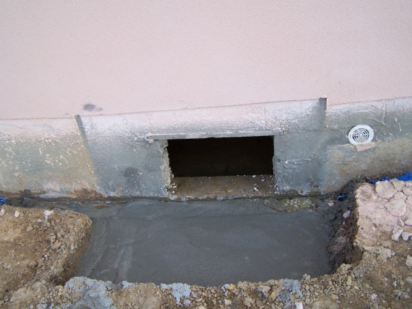Entree du vide sanitaire betonn blog de josoloula - Trappe pour vide sanitaire ...