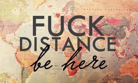 Sache que la distance, n'est qu'un tournant à ma dépendance.
