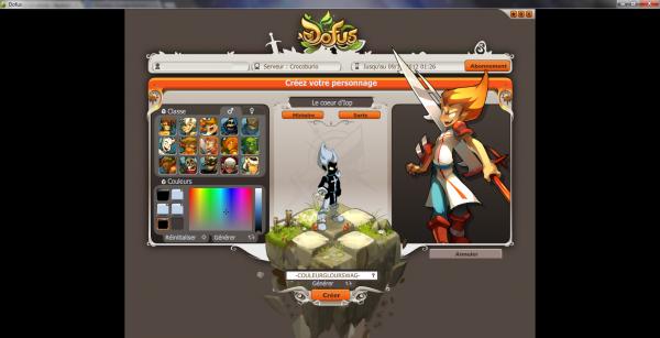 Comment retrouver les m�mes couleurs de personnages