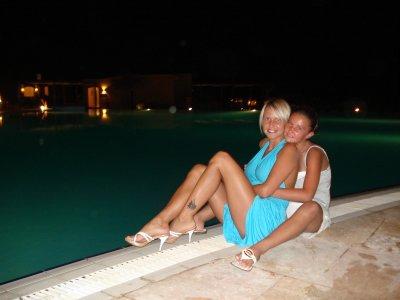 Moi ma fille kim en egypte 2009 un soir au bord de la for Au bord de la piscine tours