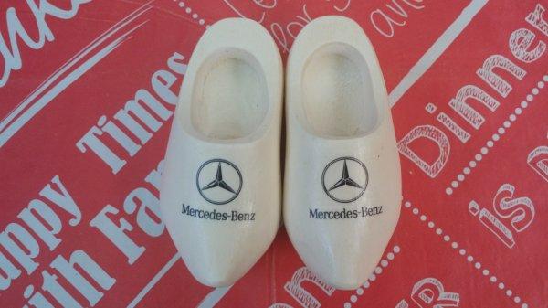 Mercedes Benz chaussures en bois ( Klompen)