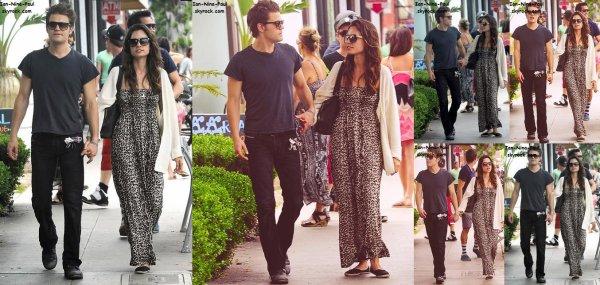 Paul � Santa Monica + Nina � l'a�roport de Los Angeles + Nian en Arizona