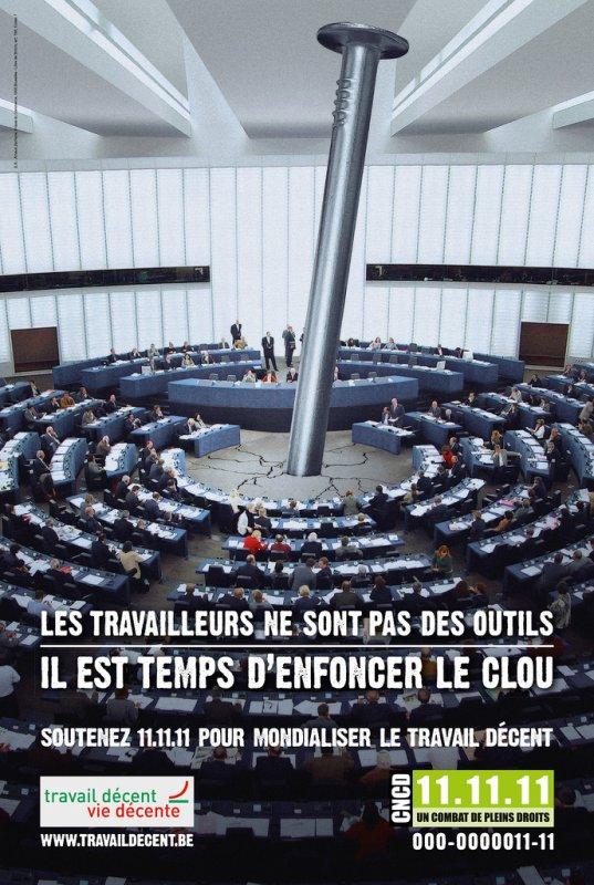 POUR MONDIALISER LE TRAVAIL D�CENT