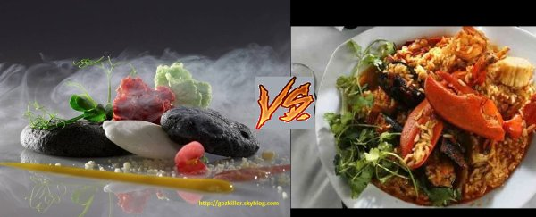 CUISINE CHIMIQUE VS TRADITIONNELLE