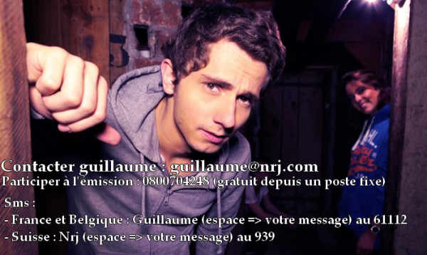 Contacter Guillaume Radio 2.0