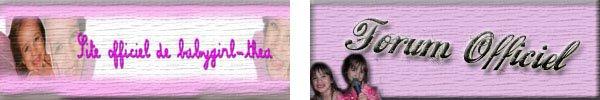 LES LIENS OFFICIELS ♥♪♪♥ Youtube ★ Forum ★ Photos ★ FaceBook ★ Test ★ Twitter  ★ GroupeFan ♥♪♪♥