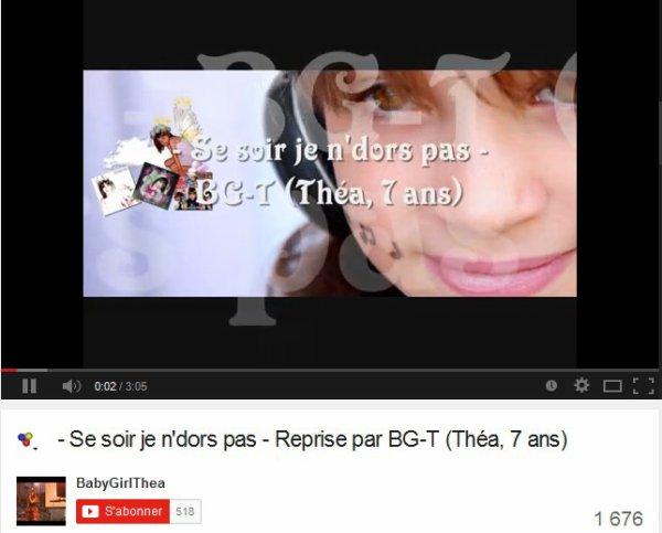 BG-Thea / Se soir je n'dors pas - Cover BG-T (2014)