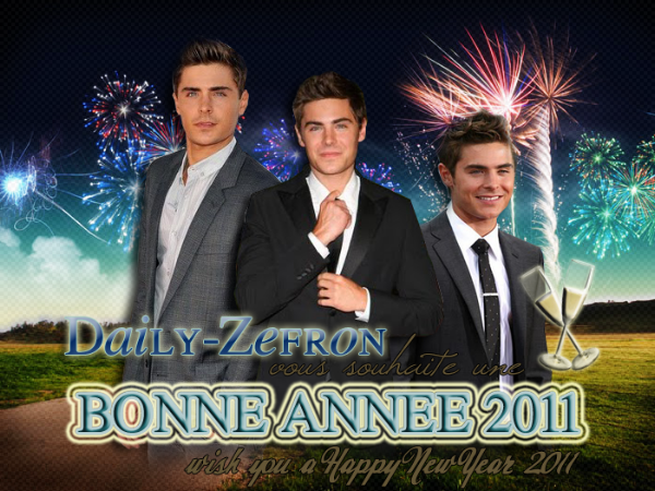→ Blog // FETES DE FIN D'ANNEE . • ˙ • . • ˙ • . • ˙ • . • ˙ • . • ˙ • . • ˙ • . • ˙ • . • ˙ • . •˙ • .  DAILY-ZEFRON ★.•°•.•HAPPY NEW YEAR•.•°•.★  « Daily-Zefron » - . • ˙ • . • ˙ • . • ˙ • . • ˙ • . • ˙ • . • ˙ • . • ˙ • . • ˙ • . •˙ • .  « Déc. 2010 »