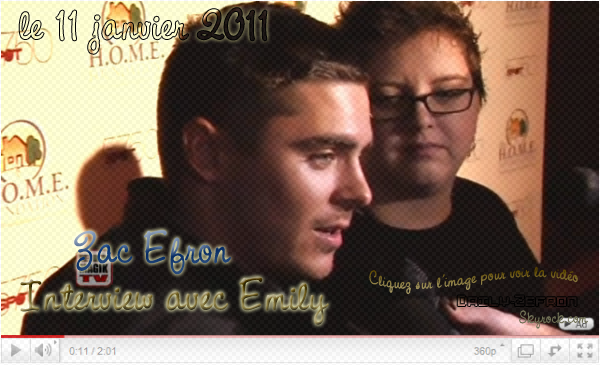 → Zac EFRON // Evénements . • ˙ • . • ˙ • . • ˙ • . • ˙ • . • ˙ • . • ˙ • . • ˙ • . • ˙ • . •˙ • .  DAILY-ZEFRON ★.•°•.•STIKS Celebrity Video Game Challenge for Charity•.•°•.★  « Zac & Emily, sa cousine » - . • ˙ • . • ˙ • . • ˙ • . • ˙ • . • ˙ • . • ˙ • . • ˙ • . • ˙ • . •˙ • .  « 11.01.2011 »