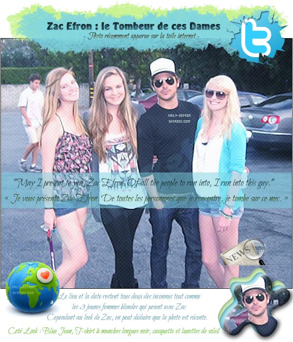 → Zac EFRON // Twitter & Candids - . • ˙ • . • ˙ • . • ˙ • . • ˙ • . • ˙ • . • ˙ • . • ˙ • . • ˙ • . •˙ • .  DAILY-ZEFRON ★.•°•.•ZAC EFRON & GIRLS•.•°•.★  «Los Angeles - Californie - USA » - . • ˙ • . • ˙ • . • ˙ • . • ˙ • . • ˙ • . • ˙ • . • ˙ • . • ˙ • . •˙ • .  - « Juin 2011 »