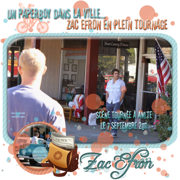 → Zac EFRON // Candids - . • ˙ • . • ˙ • . • ˙ • . • ˙ • . • ˙ • . • ˙ • . • ˙ • . • ˙ • . •˙ • .  DAILY-ZEFRON ★.•°•.•ZAC : PAPERBOY EN ACTION•.•°•.★  « Nouvelle Orléans - Louisiane - USA » - . • ˙ • . • ˙ • . • ˙ • . • ˙ • . • ˙ • . • ˙ • . • ˙ • . • ˙ • . •˙ • .  - « 07.09.2011 »