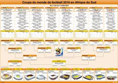 Calendrier de la coupe du monde 2010 vive le champion - Coupe du monde 2010 france ...