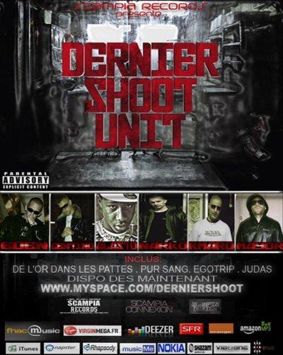 """STREET CD DU """"DERNIER SHOOT UNIT""""  DISPO SUR FNAC.VIRGIN.DEEZER.ITUNES...."""