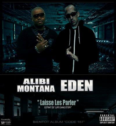 EDEN/ALIBI MONTANA A LA UNE SUR 13OR DU HIPHOP...
