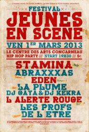 EDEN AU FESTIVAL JEUNES EN SCENE A CONCARNEAU LE 01/03/2013