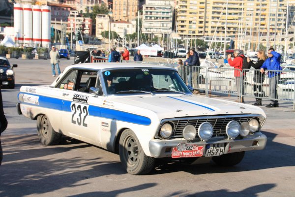 XIX rallye Mont� Carlo Historique 2016