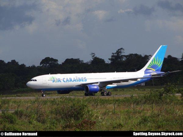 Arriv�e pr�vue d'un Airbus A330