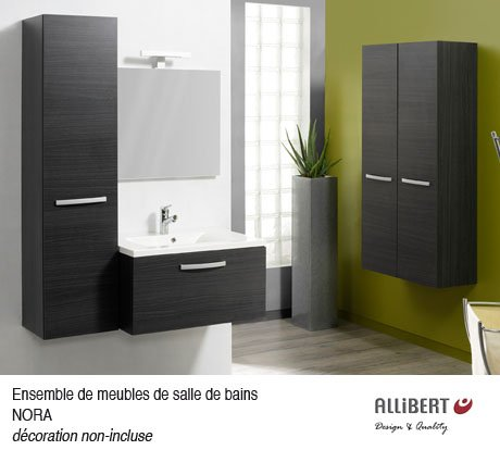 choix salle de bain allibert de chez hubo notre maison. Black Bedroom Furniture Sets. Home Design Ideas