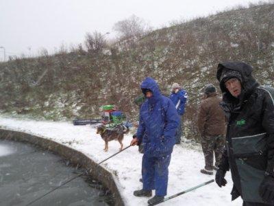 Pêche en Décembre . Téléthon des Mureaux et de rabastens