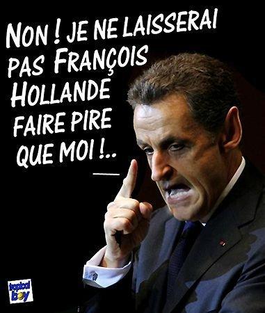 Humour Nicolas Sarkozy, photo comique de Nicolas Sarkozy, image drôle de
