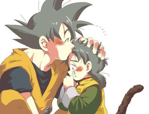 Sangoku et sangohan petit qui pleure gok to - Photo de sangohan ...