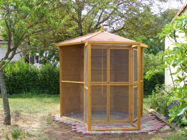 Voli re ext rieure op rationnelle blog de 4ls for Voliere en bois exterieur