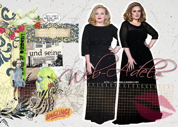 Bienvenue sur Web-Adele �Bienvenue sur Web-Adele, un blog consacr� � la talentueuse Adele Adkins, ma chanteuse pr�f�r�e apr�s la sublime Rihanna.
