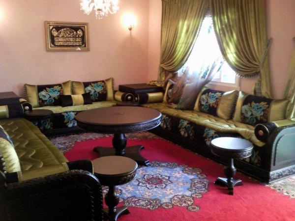 salon marocain 2012 agnaou d�cor Agadir