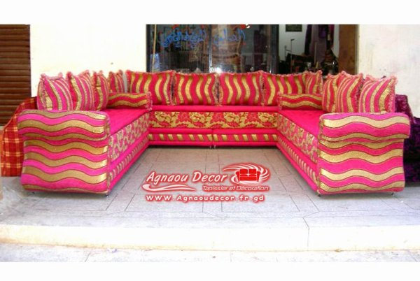 blog de salons marocains page salon marocain moderne tapissier rideaux stors skyrockcom - Salon Marocain Moderne Pas Cher