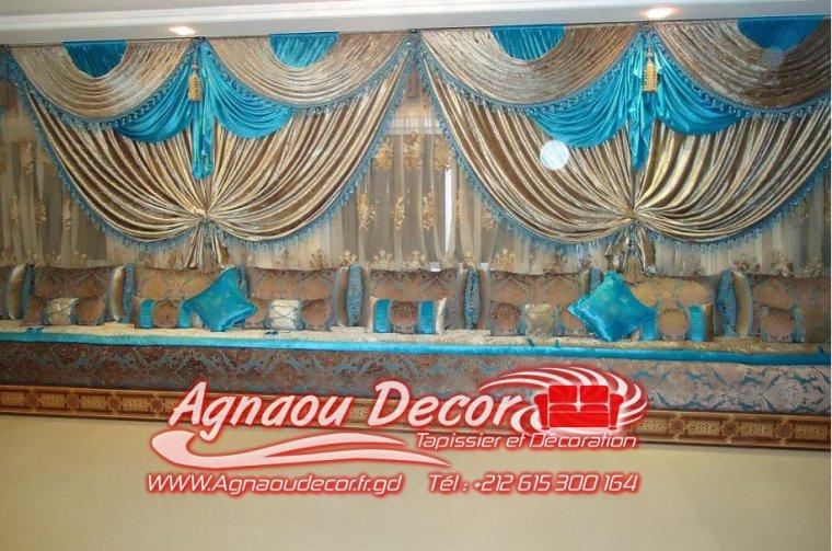 rideaux salon marocain salons marocains 2013 2014 salon marocain. Black Bedroom Furniture Sets. Home Design Ideas